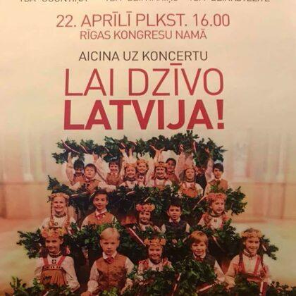 Lai dzīvo Latvija!