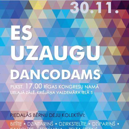 Rīgas pilsētas bērnu deju kolektīvu koncertS 2019